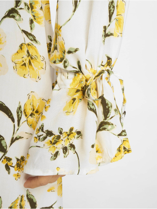 NA-KD Sukienki Tie Sleeve Midi kolorowy