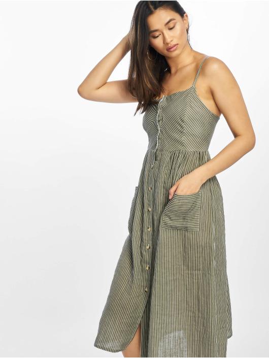 NA-KD Sukienki Stripe zielony