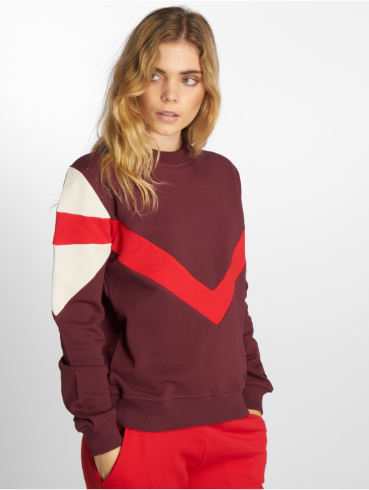 NA-KD Sweat & Pull Multi Blocked rouge