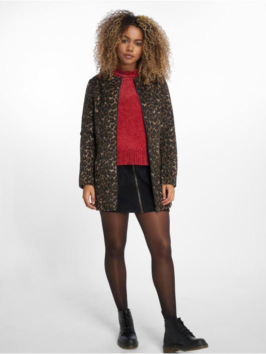 NA-KD Sweat & Pull Chenille rouge