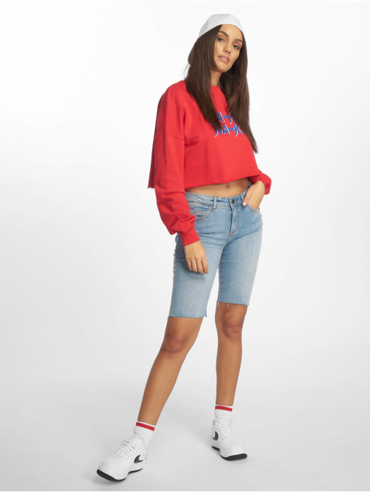 NA-KD Sweat & Pull Short rouge