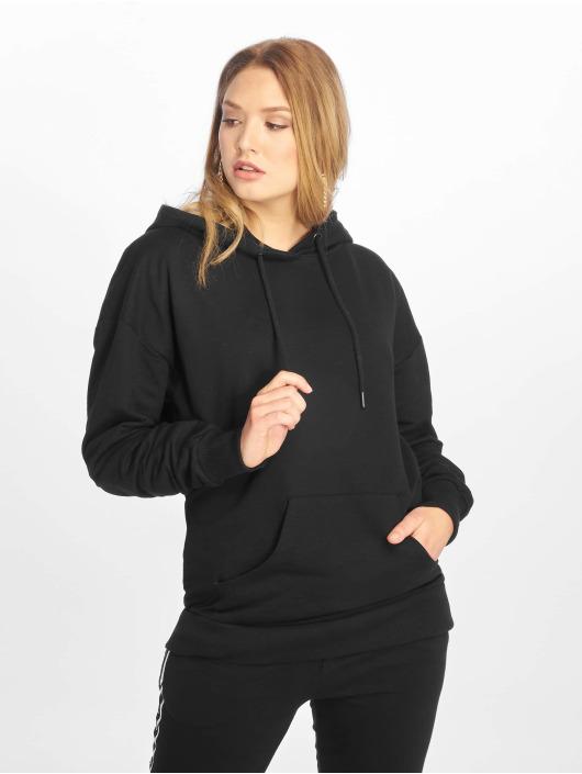 NA-KD Sweat capuche Logo Oversized noir