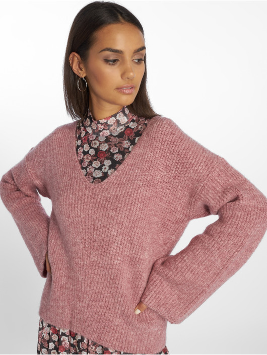 NA-KD Swetry V Front pink