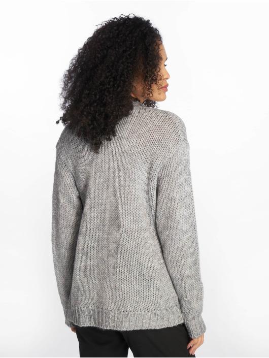 NA-KD Swetry rozpinane Heavy Knit szary
