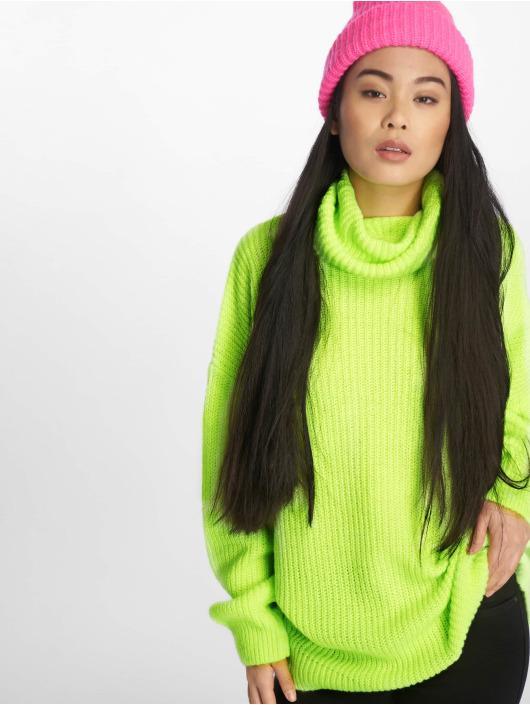 NA-KD Swetry Neon Oversized zólty
