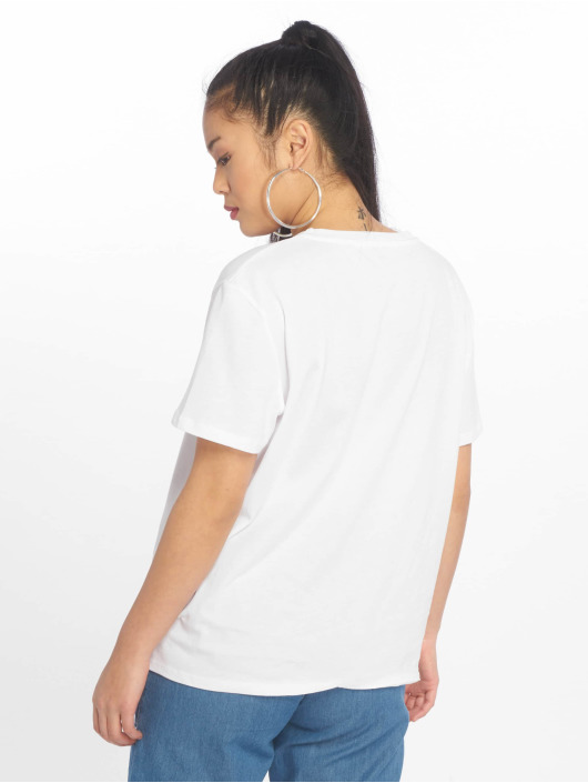 NA-KD T-Shirt West Coast blanc