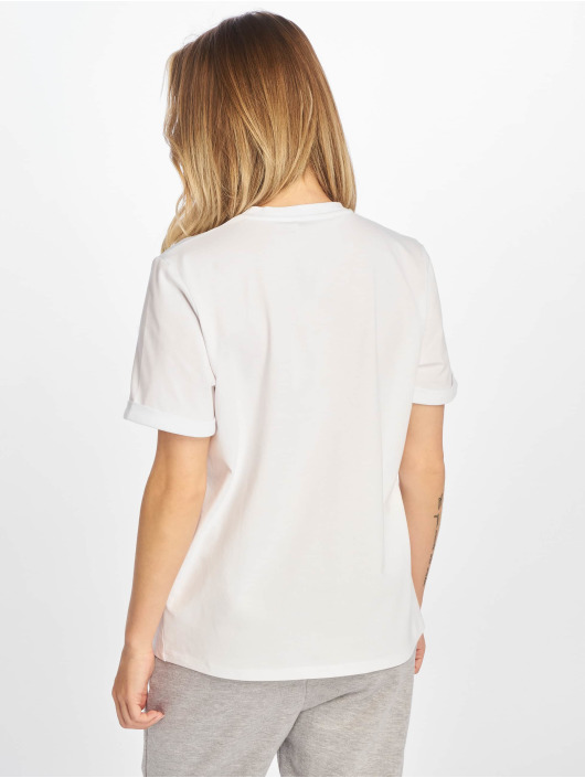 NA-KD T-Shirt Details blanc