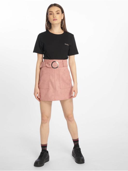 NA-KD T-Shirt Darlin noir
