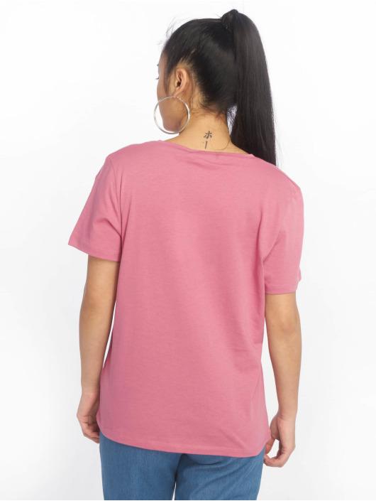 NA-KD T-shirt Logo rosa