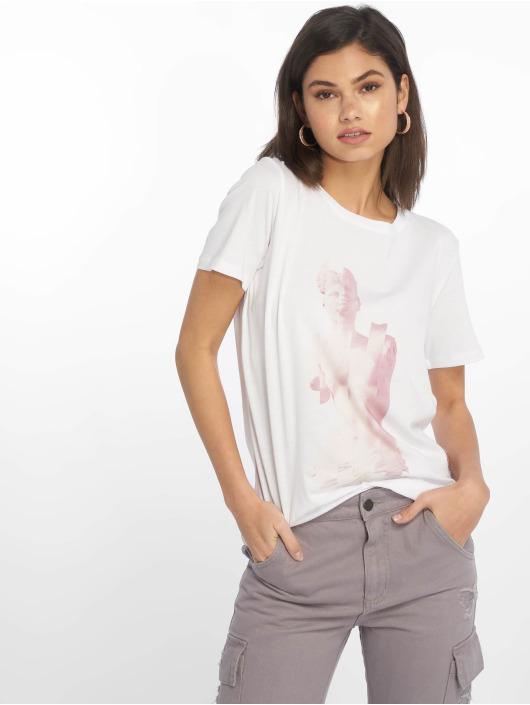 NA-KD T-Shirt Statue weiß