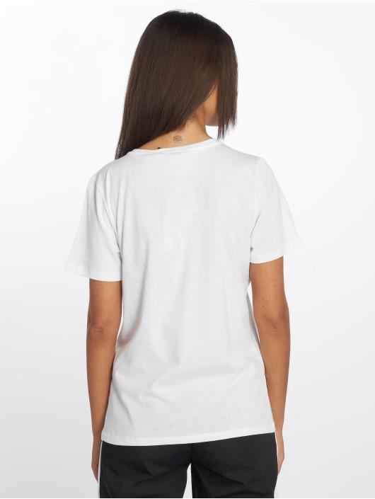 NA-KD t-shirt Small Logo wit
