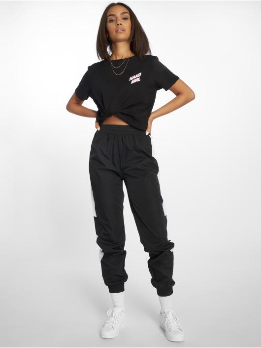 NA-KD t-shirt Nakd Girl zwart