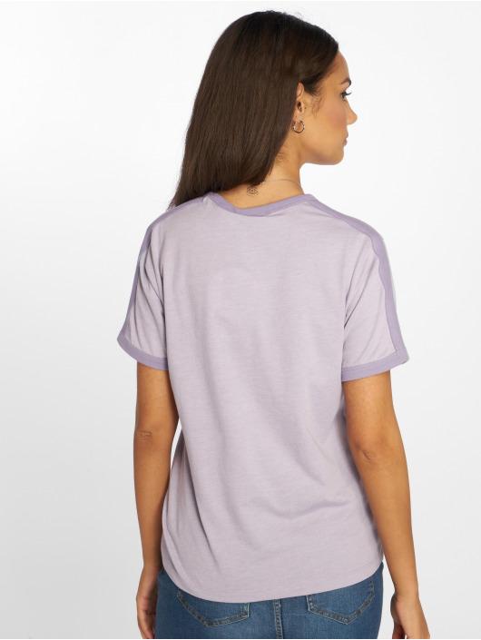 NA-KD T-shirts Babe Embroidery lilla
