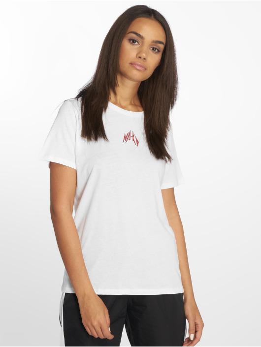 NA-KD T-skjorter Small Logo hvit