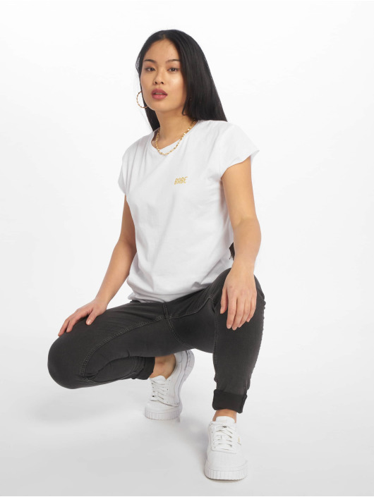 NA-KD T-skjorter Babe Basic hvit