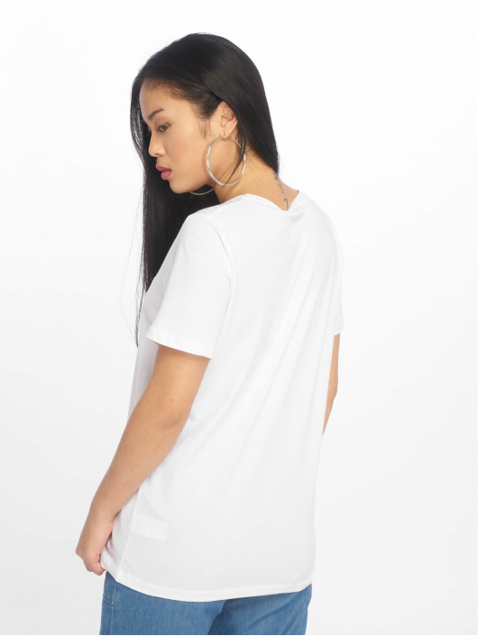 NA-KD T-skjorter Logo hvit