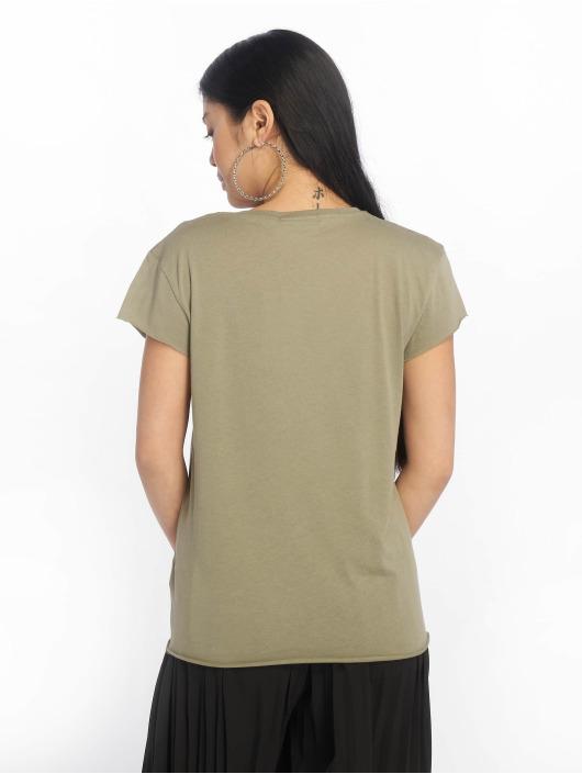 NA-KD T-skjorter Babe Basic oliven