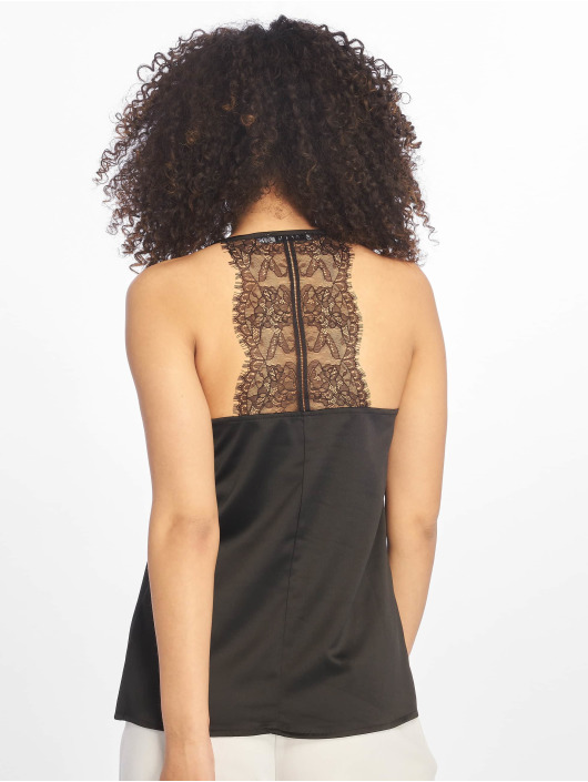 NA-KD top Lace zwart