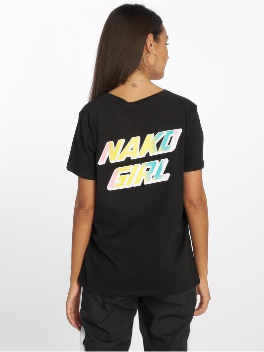 NA-KD Tričká Nakd Girl èierna
