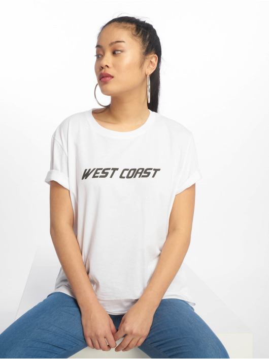 NA-KD Tričká West Coast biela
