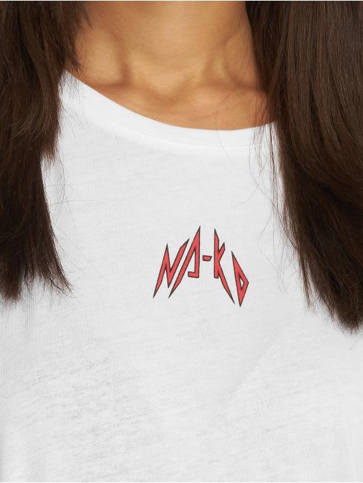 NA-KD Trika Small Logo bílý