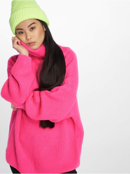 NA-KD trui Neon Oversized pink