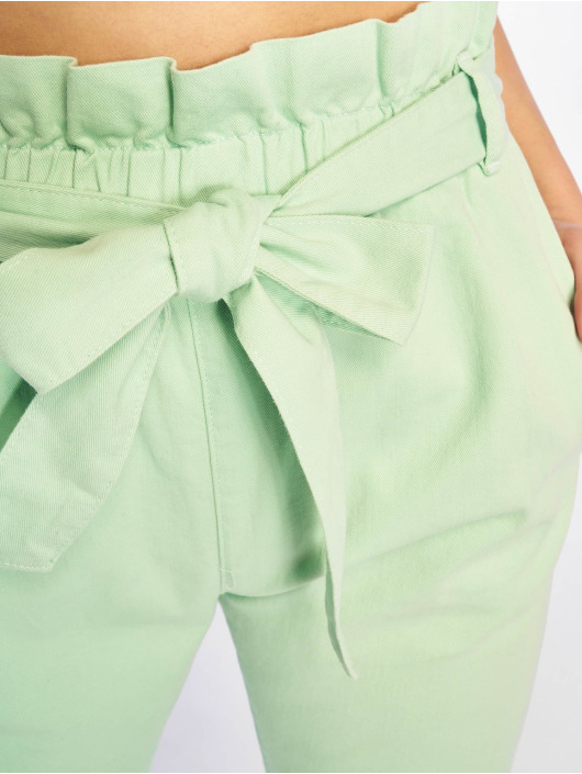 NA-KD Tygbyxor Paper Bag grön