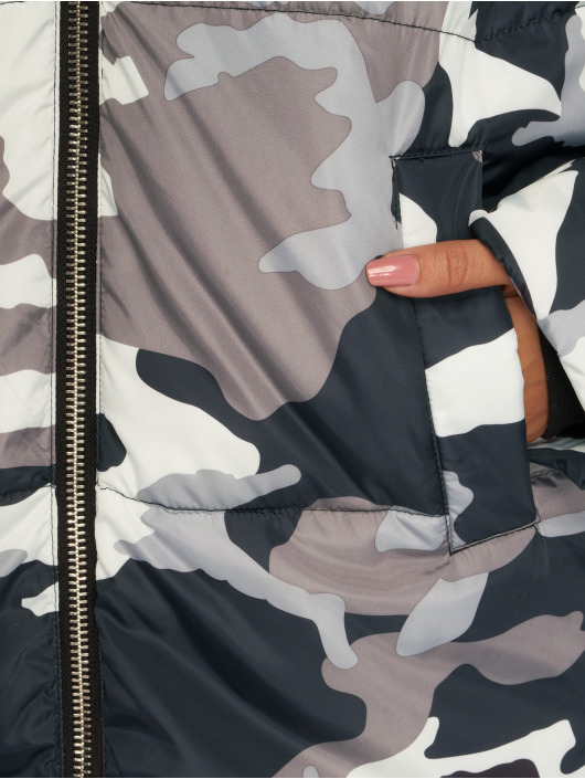 NA-KD Ulkotakit Long Camo Padded camouflage
