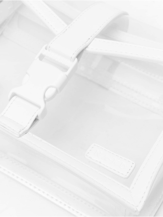 NA-KD Väska Transparent vit