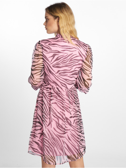 NA-KD Vestido High Neck fucsia