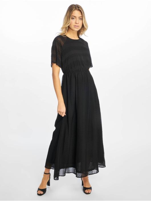 NA-KD Vestido Dot Long negro