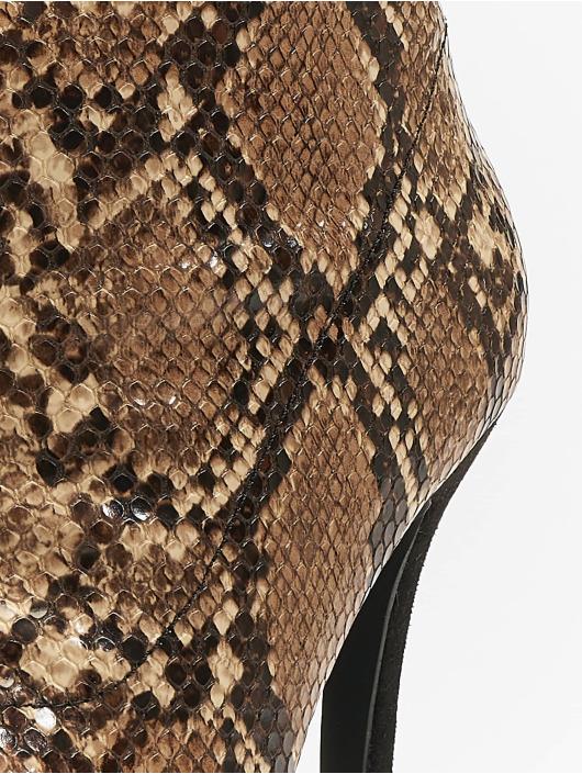 NA-KD Women Boots Two Colour Stiletto brown