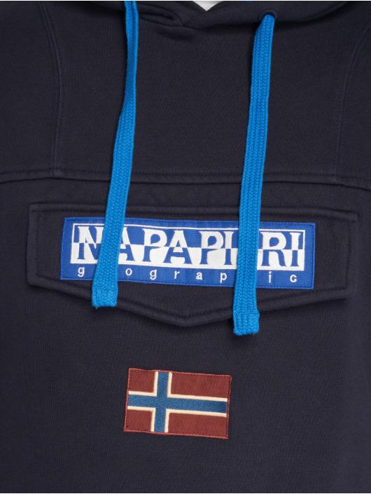 2 Homme Bleu Fleece Sweat Napapijri Burgee Capuche 507827 tsQrdhCx