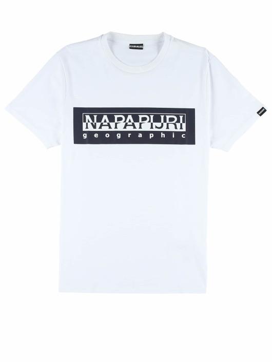 Napapijri T-skjorter Sele hvit