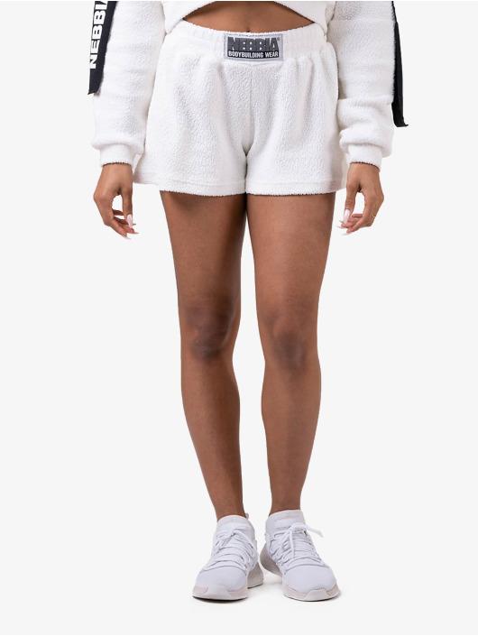 Nebbia Šortky Shorts biela