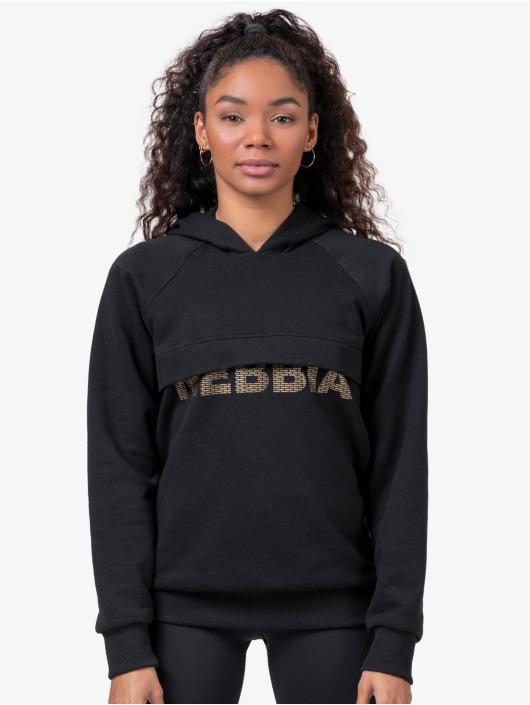 Nebbia Bluzy z kapturem Intense Focus czarny
