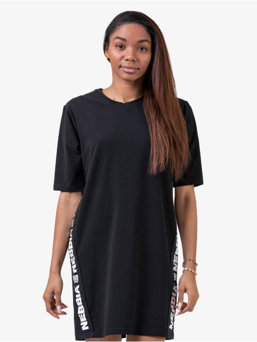 Nebbia Camiseta Oversize negro