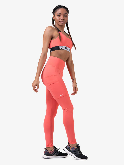 Nebbia Hihattomat paidat Fitness roosa