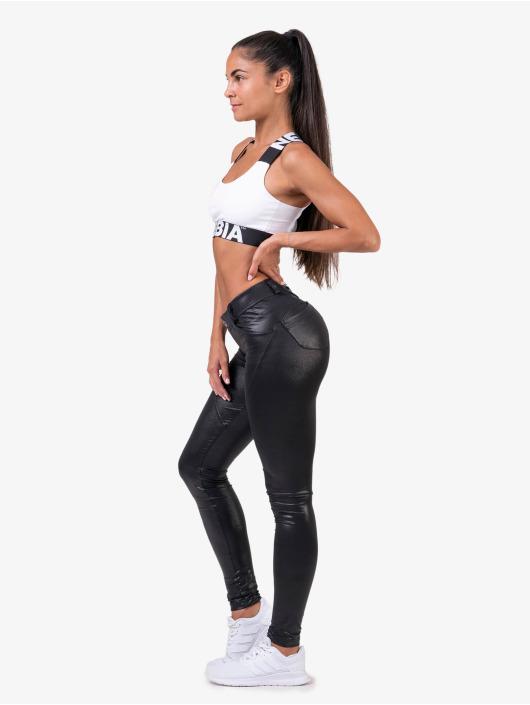 Nebbia Hihattomat paidat Fitness valkoinen