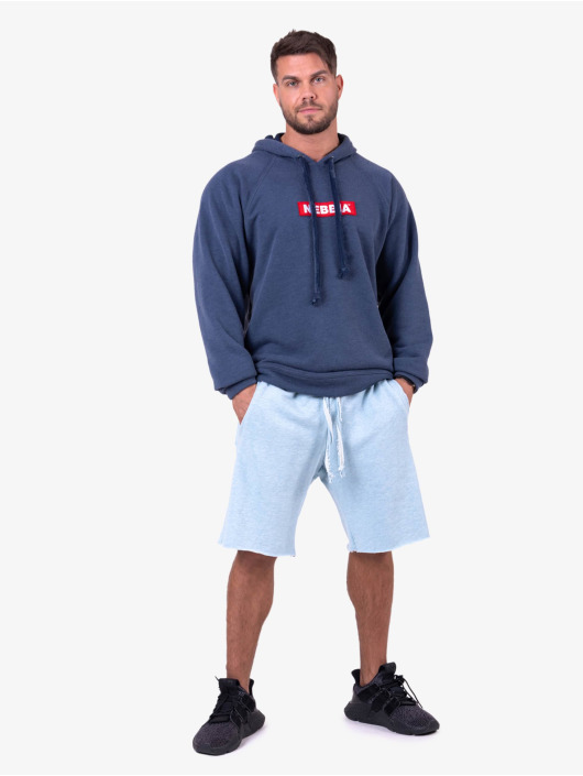 Nebbia Hoodie Red Label blue