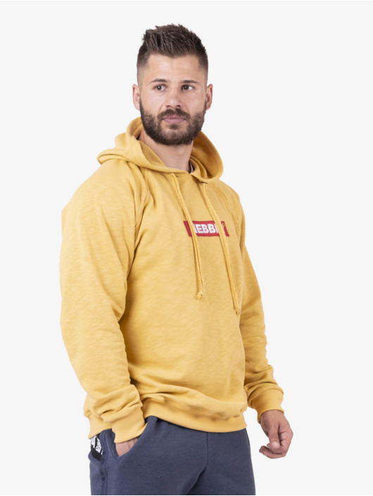 Nebbia Hoodie Red Label yellow