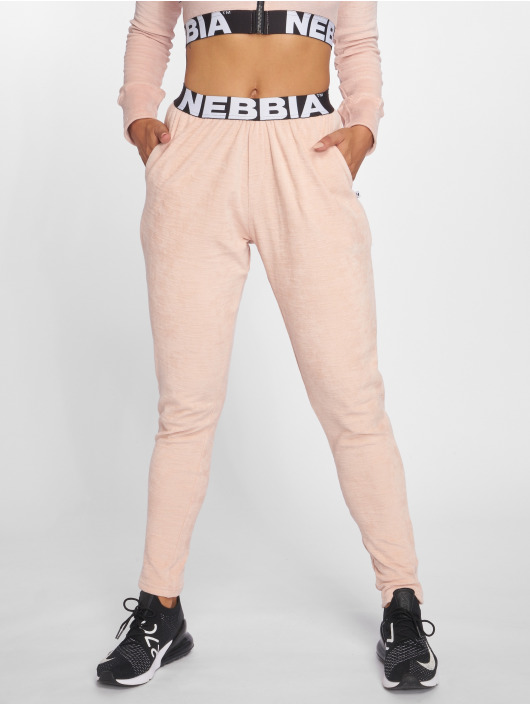 Nebbia Jogger Pants Drop Crotch ružová