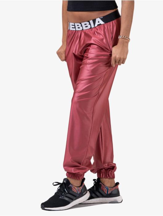 Nebbia Joggingbyxor Metallic rosa