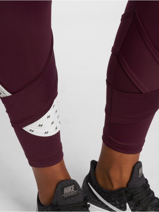 Nebbia Legging Asymmetrical 7/8 paars