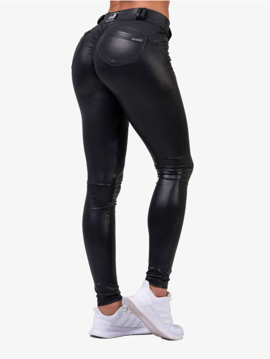 Nebbia Legging Bubble Butt schwarz