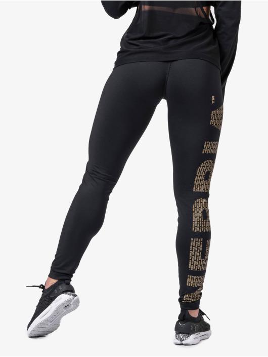 Nebbia Legging Logo schwarz