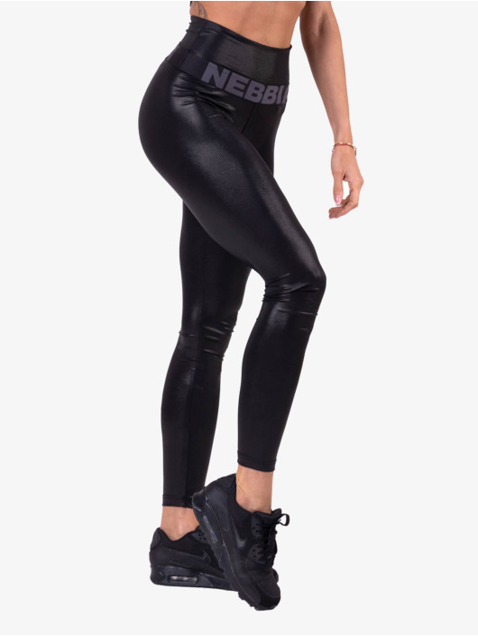 Nebbia Leggings Glossy High Waist svart