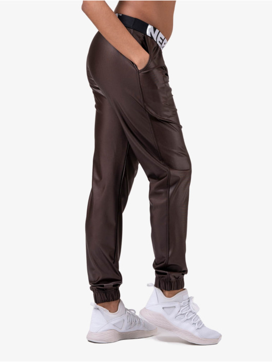 Nebbia Pantalón deportivo Metallic marrón
