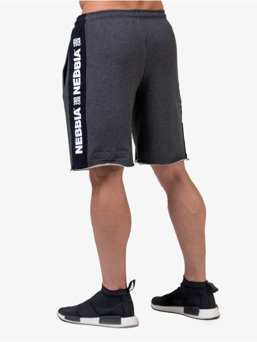 Nebbia Shorts Lampas grå