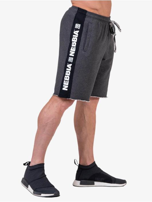 Nebbia Shorts Lampas grau